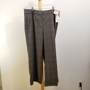 New York and Co. Wide leg wide cuff trousers